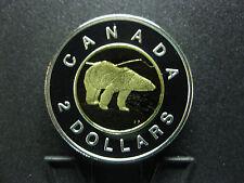 1996 Canadian Silver Proof Piedfort Toonie ($2.00) **RARE**