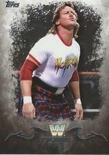 Rowdy Roddy Piper WWE Undisputed 2016 Trading Card #87 WWF
