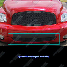 For 2006-2011 Chevy HHR Bumper Black Stainless Steel Mesh Grille Grill Insert