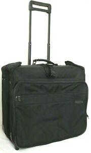 Briggs & Riley Baseline U76 Black Wheeled Rolling Garmet Bag Luggage Suitcase