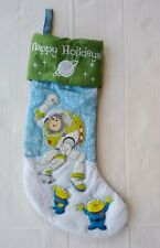 "Buzz Lightyear Christmas Stocking 18"" Disney Pixar"