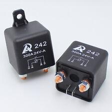 2 pcs -  24VDC Heavy Duty Relay 300A automotive car boat storage battery Switch