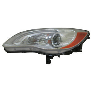 Headlight Assembly-Capa Certified Left TYC 20-9198-00-9 fits 11-14 Chrysler 200