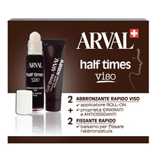 ARVAL HALF TIMES VISO ABBRONZANTE RAPIDO VISO 2x10 ml + FISSANTE RAPIDO 2x10 ml