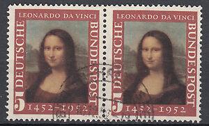 BRD 1952 Mi. Nr. 148 Paar Gestempelt TOP!!! (23480)