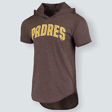 San Diego Padres Fernando Tatis Jr. Heathered Brown  Hoodie T Shirt Size XL