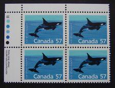 Sc# 1173 - Ul Pb Mnh - Mammal Definitives (57¢ Killer Whale) - 12.0 x 12.5