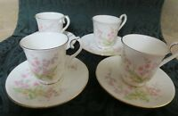 "ROYAL ALBERT PARKLAND ""FOR ALL SEASONS"" S/4  DEMITASSE CUPS & SAUCERS~EX COND"