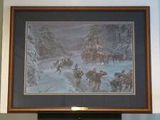 Mort Kunstler - Winds of Winter- Collectible Civil War Print