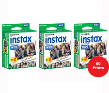 Fujifilm 60 Sheets Instax Wide Instant Color Film for 200 210 300 Camera