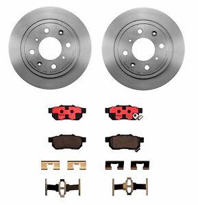 Brembo Rear Brake Kit Ceramic Pads Disc Rotors For Integra Honda Accord Prelude