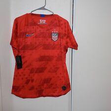 NIKE 2019 USA Women's World Cup Stadium Away 4 Star Red Jersey CQ4243 Slim Fit