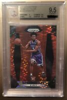 2017 Panini Prizm De'aaron Fox Red Pulsar ROOKIE RC /25 BGS 9.5 GEM MINT