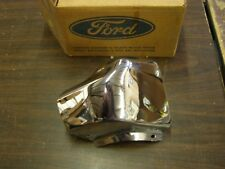 NOS OEM Ford Courier Truck Pickup Front Bumper End Chrome 1972 1973 1974 1975 76