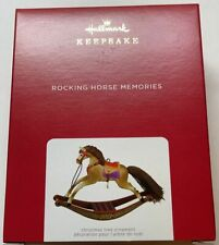 Hallmark 2021 Rocking Horse Memories Christmas Ornament New with Box