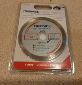 "Dremel Saw-Max 3"" Tile Diamond Blade SM540 -  FREE SHIPPING"