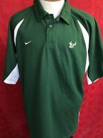 Vintage USF Bulls Nike Coaches Polo shirt belonged to Jim Leavitt football