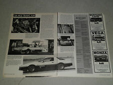 1984 PONTIAC TRANS AM MSE motor sport edition article / ad