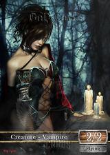 3x Vampire #11 Custom Altered Tokens Khans of Tarkir (for Sorin Solemn Visitor)