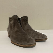 Paul Green Logan Gray Suede  Ankle Boots Size Size 8