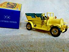 MATCHBOX  1904 SPYKER TOURER  Y-16   YESTERYEAR  ORIGINAL BOX VINTAGE