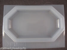 "Resin Mold Octagon Base 6"" x 3"" 14 x 7 cm Stand Tile USA"