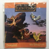 The Lion King Booster Collection 4 Pin Set Disney Pin 69201