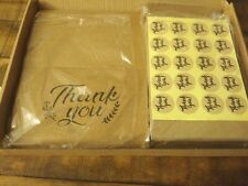 Ohuhu 3 x 36 packs (108) Kraft Thank You Greeting Cards Wedding Birthday 4x6
