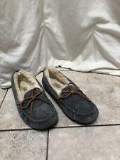 UGG Australia 5612 Dakota gray suede Slippers Women's Size 7