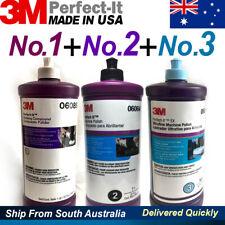 3M Perfect-It / No1 Rubbing Compound+No2 Machine Polish +No3 Ultrafine Machine P