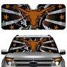 Auto Sun Shade - NCAA Texas Longhorns for Front Window