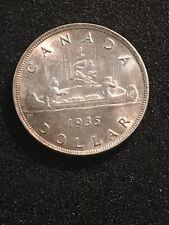 Canada 1935 Silver $1 Dollar