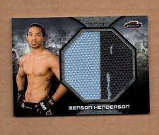 2013 Finest UFC Jumbo Fight Mat Relics #FFMBH Benson Henderson 2 color
