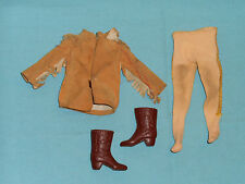 vintage Mego American West BUFFALO BILL CODY CLOTHES outfit from action figure