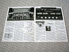 Akai GX-400D-SS reel to reel tape deck brochure, RARE