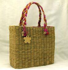 Ladies or Juniors Esprit de corp Straw Hand Bag