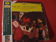 "CARL ORFF "" CARMINA BURANA "" (200GRAM ANALOGUE VINYL JAPANPRESSING/NEW=UNPLAYED)"