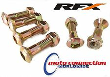 YAMAHA WR250F WR450F WRF 00-17  YZ  RFX  REAR SPROCKET BOLTS & LOCKING  NUTS