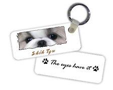 Shih Tzu The Eyes Have It Key Chain