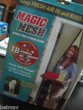 Magic Mesh Instant Screen Door As Seen on TV