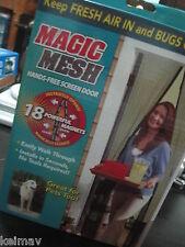 Magic Mesh Instant Screen Door As Seen on TV