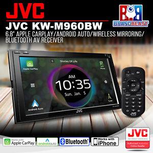 "JVC KW-M960BW 6.8"" Apple CarPlay/Android Auto/Wireless Mirroring AV Receiver"