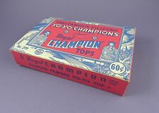 Original 1950's Yo Yo's Display Box - Tommy and Joe the Filipino Champions
