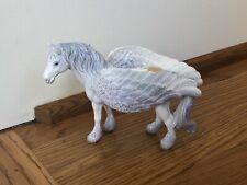 Schleich Bayala Pegasus Standing Retired 70423 Hand Painted - Euc