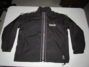 Andretti Green Men's Canadian Club Racing Black Zip Up Indy Car Jacket Size L