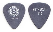 Bryan Adams Keith Scott Boston Bruins Black Guitar Pick - 2003 Tour
