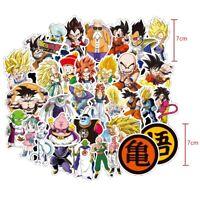 100Pcs Anime Dragon Ball Z Super Saiyan Goku Sticker Bomb Decals For Skateboard