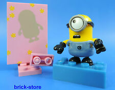 MEGA BLOCKS MINIONS SERIE 5 / FIGUR (Nr.2) Minion mit rosa Spiegelbild