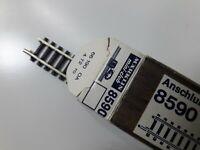 Z, MÄRKLIN, 8590, 1 Anschlußgleisst. gerade, 110 mm, 1972, das 1.! - in OVP, K1!