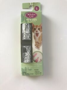 Whisker City Kitty Caps Clear Size Large